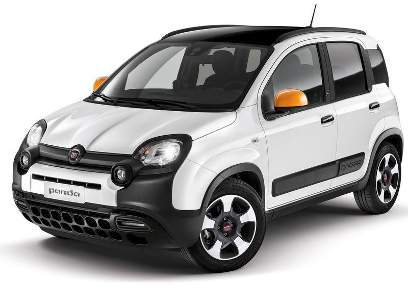 Fiat Panda Wind, vista di profilo