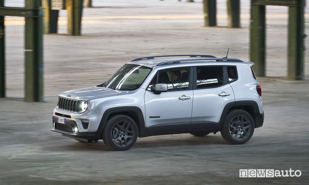 Jeep Renegade S 2019, vista laterale