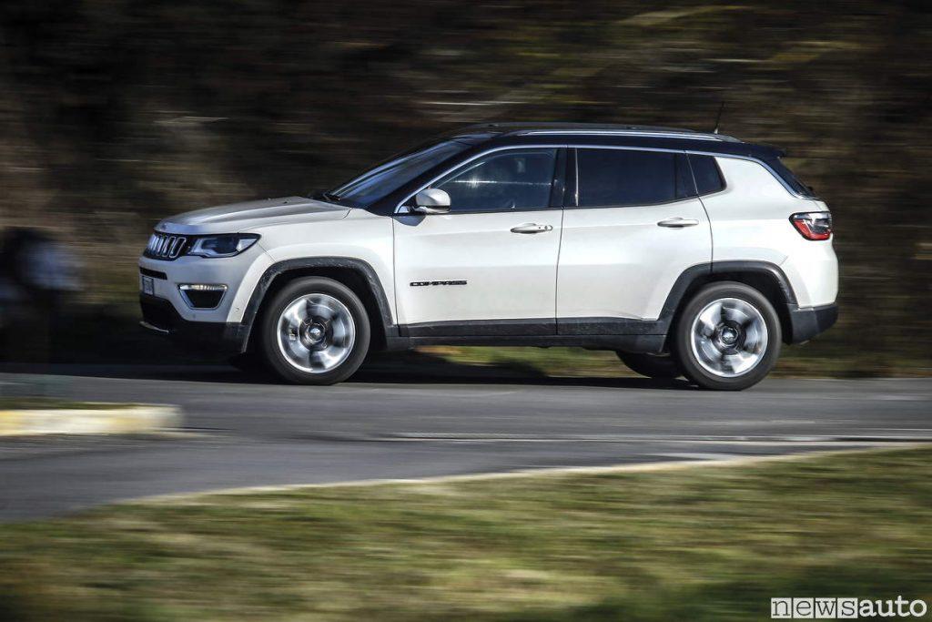 Vendite auto febbraio 2019 Jeep Compass limited