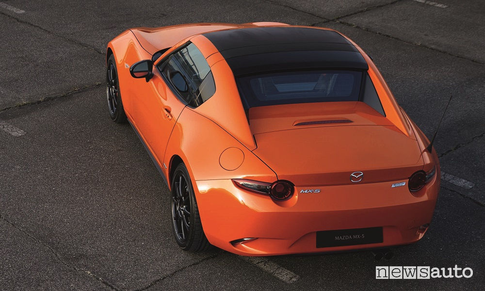 Mazda MX-5 30th Anniversary Edition, vista dall'alto