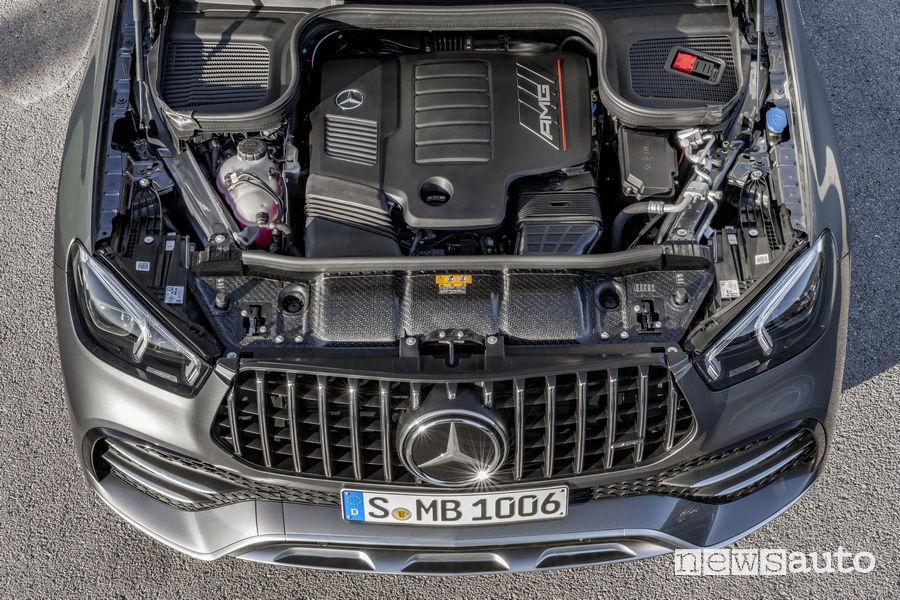 Mercedes-AMG GLE 53 4MATIC+, vano motore