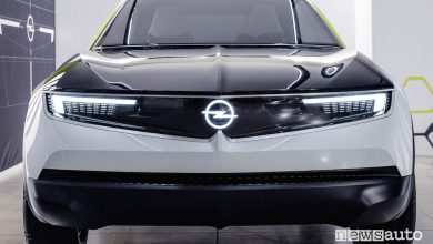 Opel concept GT X Experimental 2019, frontale