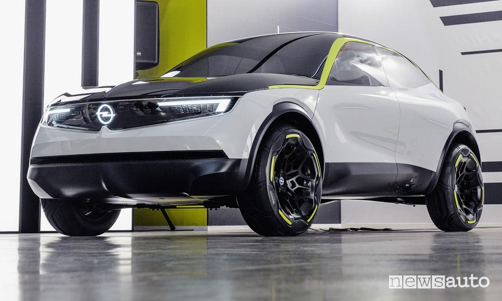 Opel concept GT X Experimental 2019, vista di profilo