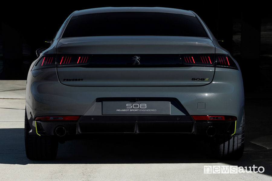 Peugeot 508 Sport Engineered concept, posteriore