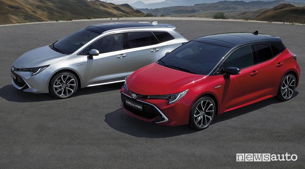 Toyota Corolla auto più venduta al mondo 2018