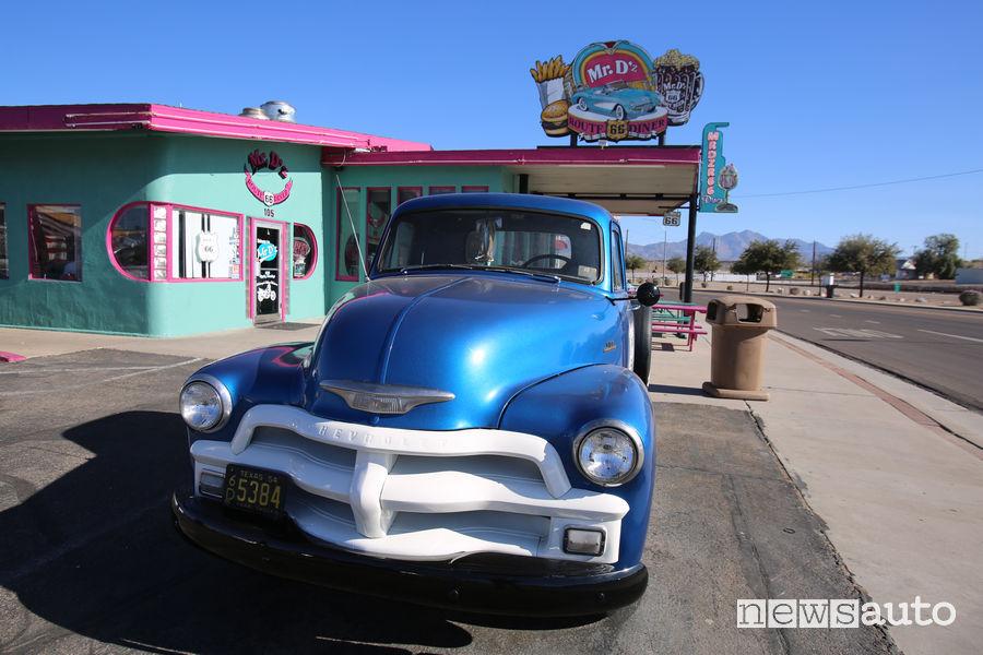 Route 66 Stati Uniti, auto storica americana