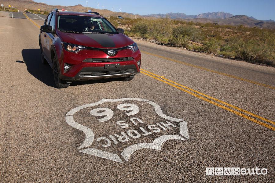 Toyota RAV4 Route 66
