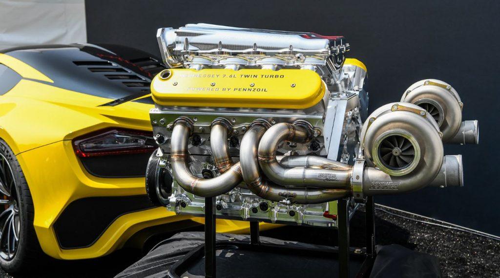 Venom-F5-engine motore supercar più veloce del mondo