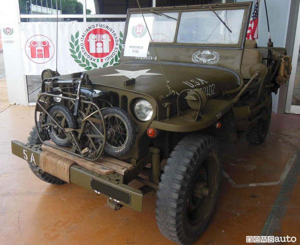 Jeep militare Fuoristrada-storico-fif