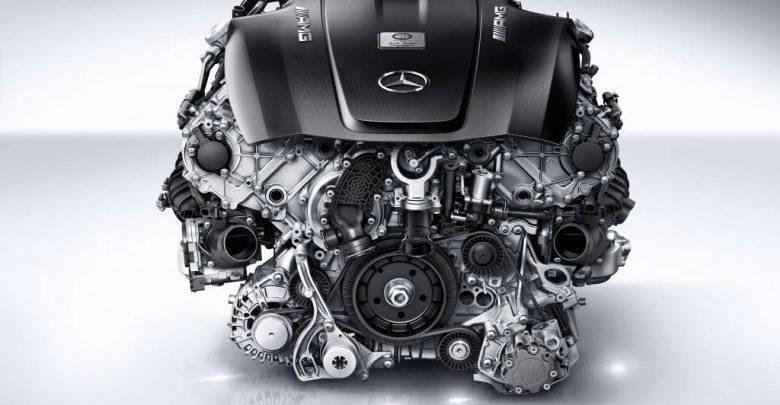 ;otore engine v8 biturbo mercedes-amg-4L