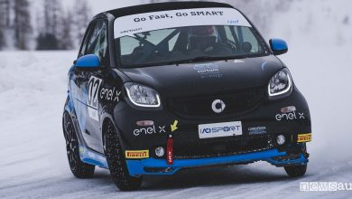 Photo of Smart sul ghiaccio, test con le gomme chiodate
