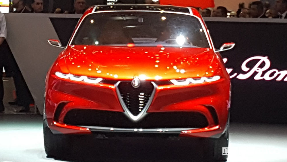 Alfa Romeo Tonale Ginevra 2019, vista frontale