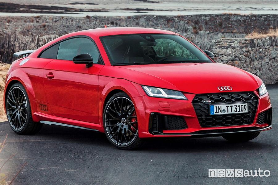 Audi TTS competition, vista di profilo