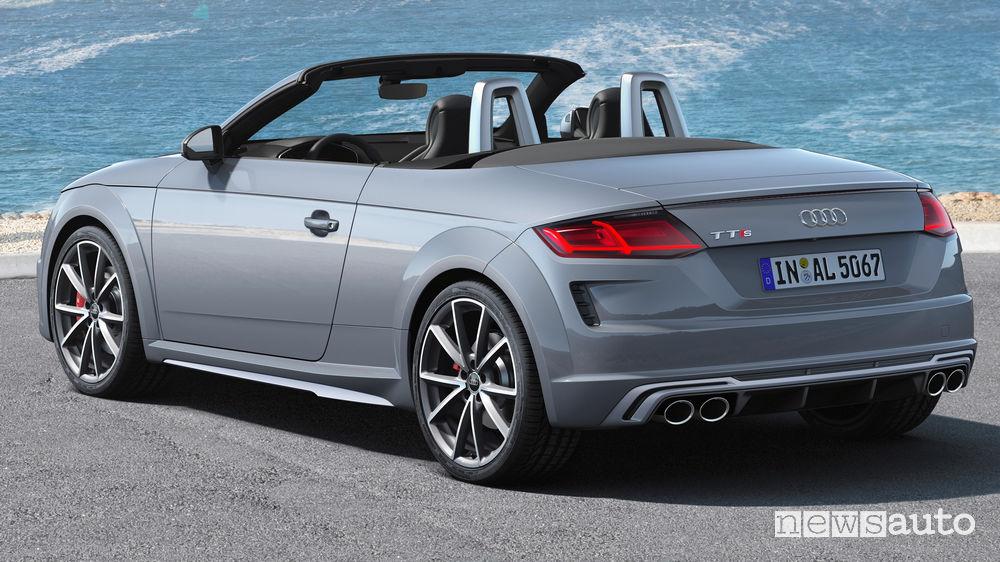 Audi TTS Roadster, vista posteriore
