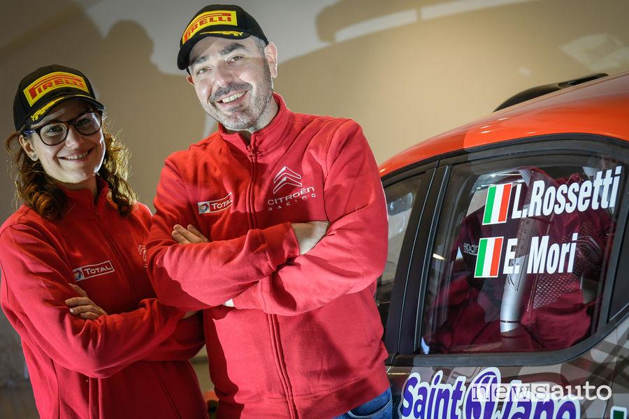 Rossetti-Mori equipaggio Citroën Racing Italia 2019
