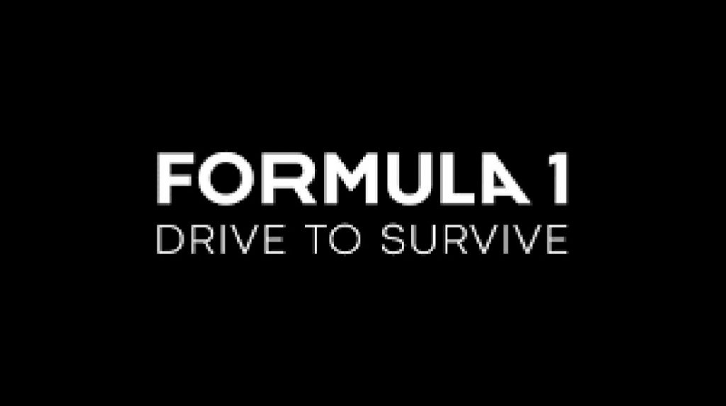 Drive to survive netfix f1 logo
