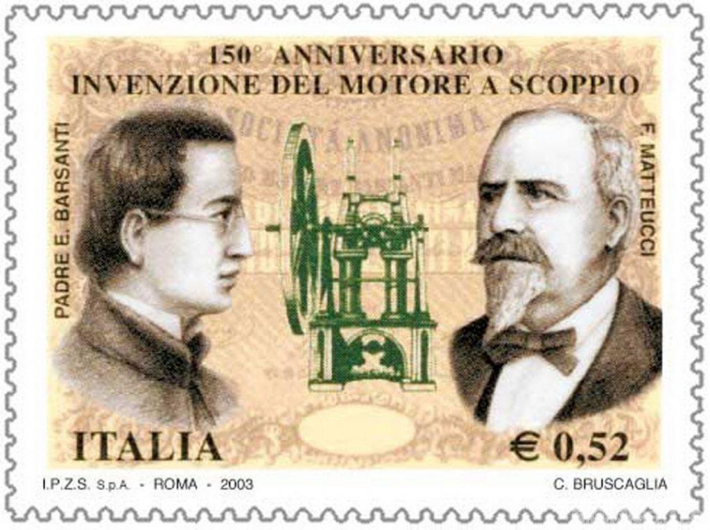 Eugenio Barsanti e Felice Matteucci sono i 2 papà che diedero la vita al motore a scoppio nel 1853