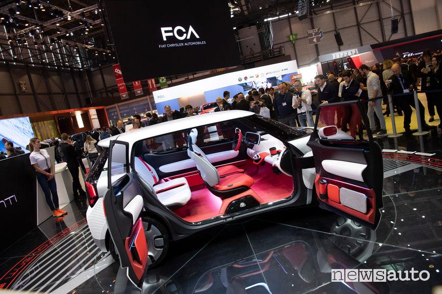 Fiat Concept Centoventi Ginevra 2019, vista laterale