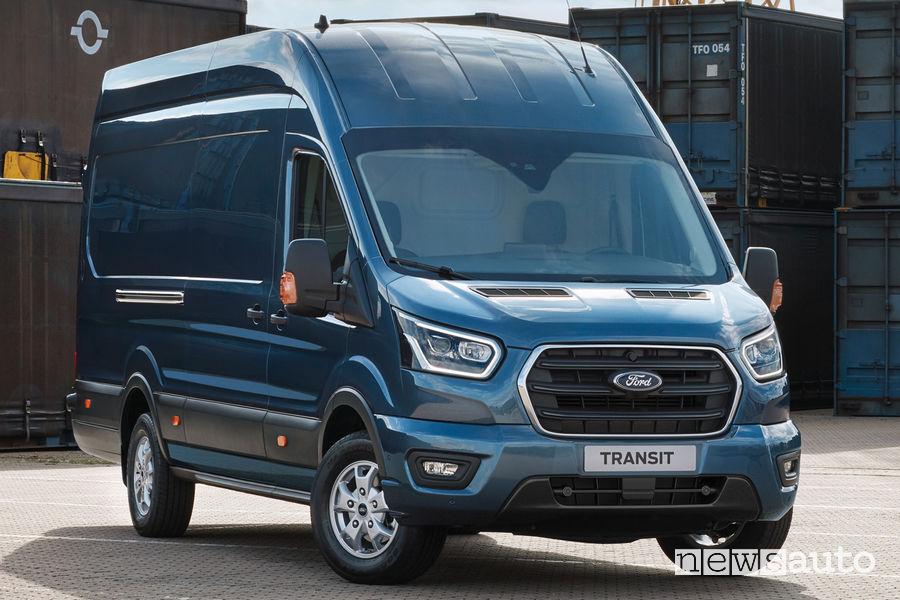 Ford Transit è un veicolo commerciale molto apprezzato