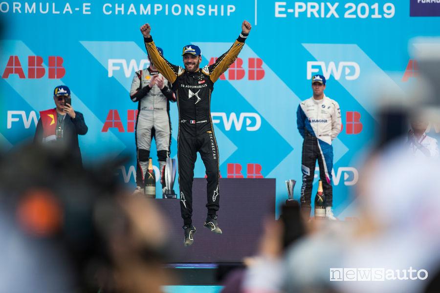 Formula E 2019 podio Sanya e-Prix