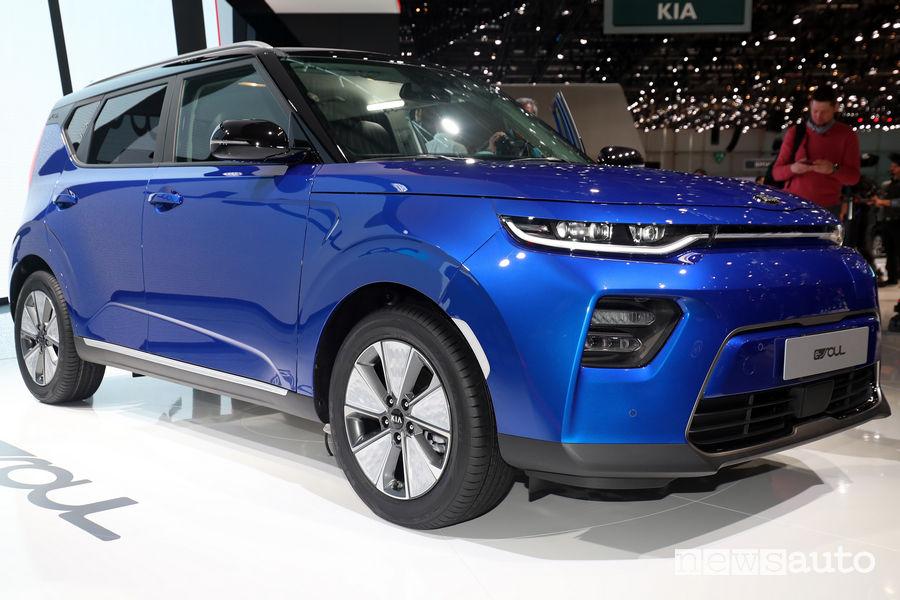 Auto elettriche Ginevra 2019 Kia Soul EV
