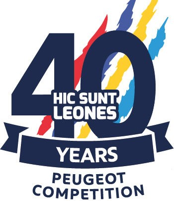 Logo Peugeot Competition 2019 40 anni