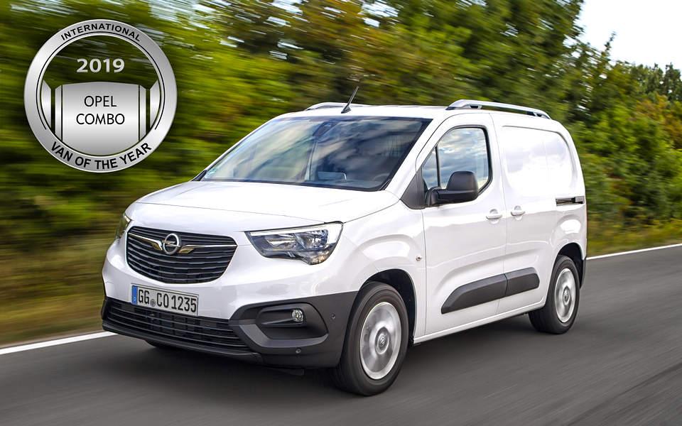Opel Combo Van of the year 2019