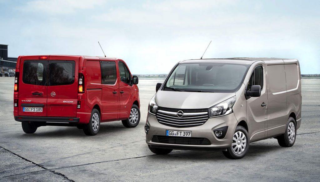 Opel Vivaro una storia di lunghi successi