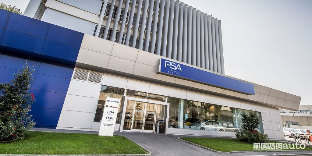 Sede Groupe PSA in Italia in Via Gallarate a Milano