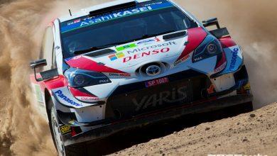 WRC 2019 Rally Messico, Tanak Toyota Yaris WRC