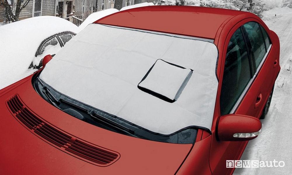 Appannamento vetri auto telo protettivo lampa