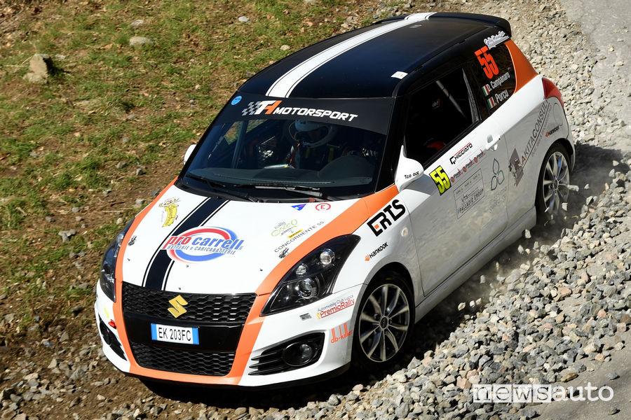 CIR Rally il Ciocco 2019, Suzuki Swift R1 Campanaro