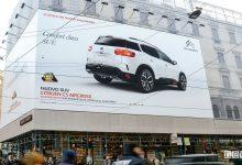 SUV Citroën C5 Aircross nei luoghi simbolo di Milano