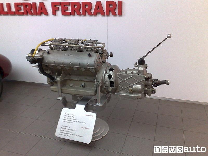 Motore Ferrari 125 S