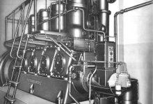 rombo motore d'epoca fairbanks morse 32D quattro cilindri