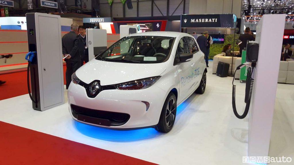Renault Zoe auto elettrica Salone di Ginevra GIMS