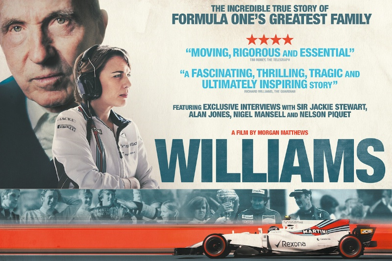 Williams locandina film
