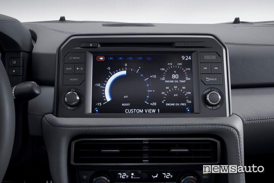 Display Nissan GT-R  2020 nuova