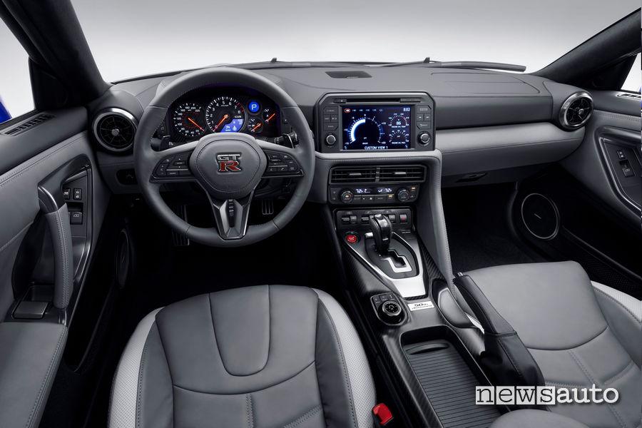 Abitacolo nuova Nissan GT-R 50th Anniversary Edition 2020