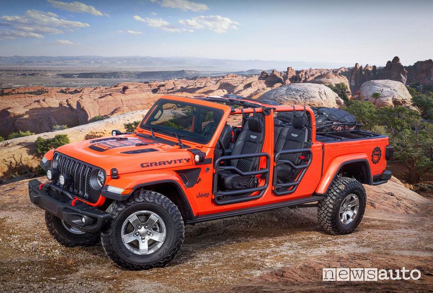 Jeep Gladiator Gravity vista di profilo