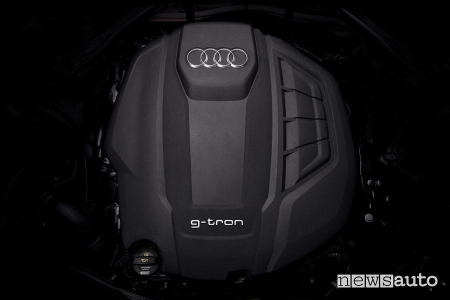 Audi A4 Avant g-tron motore
