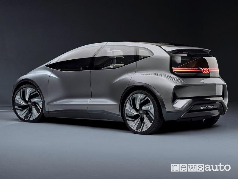 Audi AI:ME vista posteriore