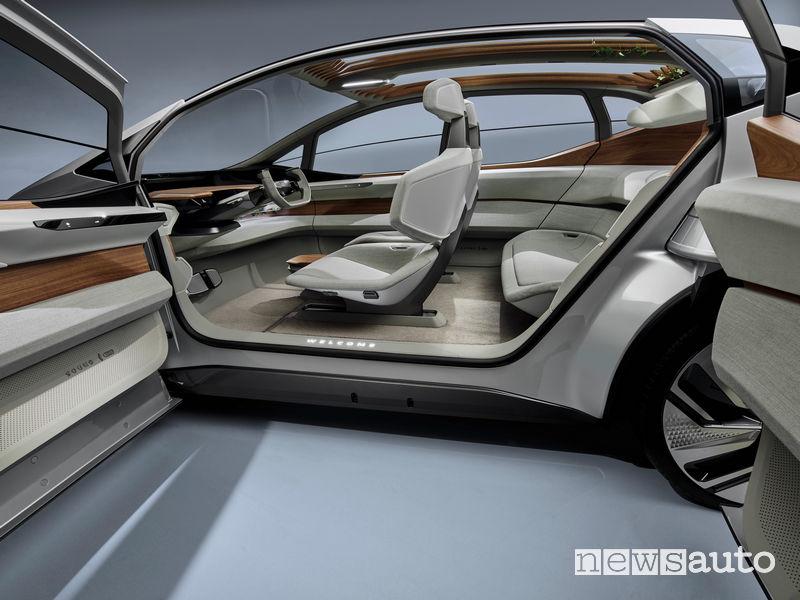 Audi AI:ME apertura delle portiere