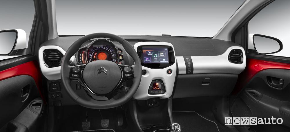 Citroën C1 Urban Ride plancia strumenti