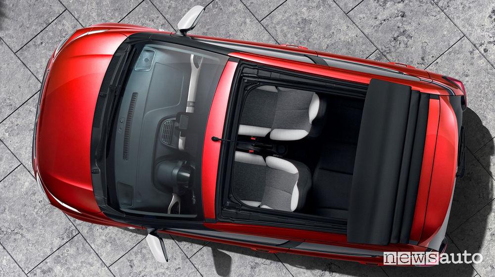Citroën C1 Urban Ride Airscape vista dall'alto