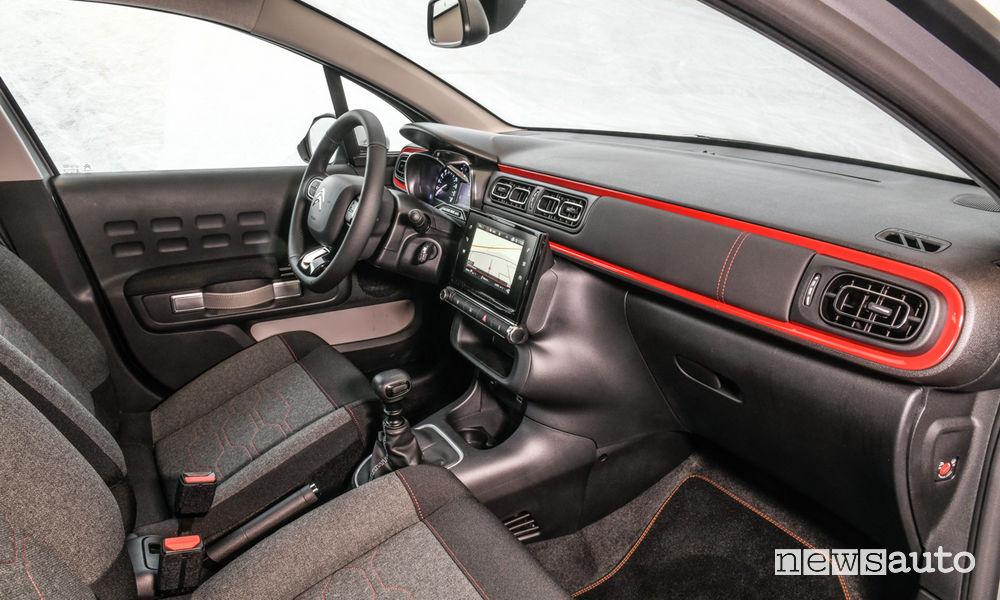 Citroën C3 RaC3 Edition abitacolo