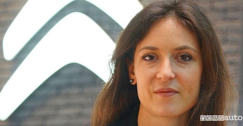 Delphine Coma Direttrice della Comunicazione Citroën
