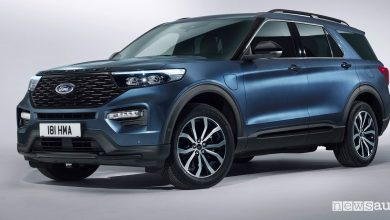 Ford Explorer SUV 7 posti Plug-In Hybrid