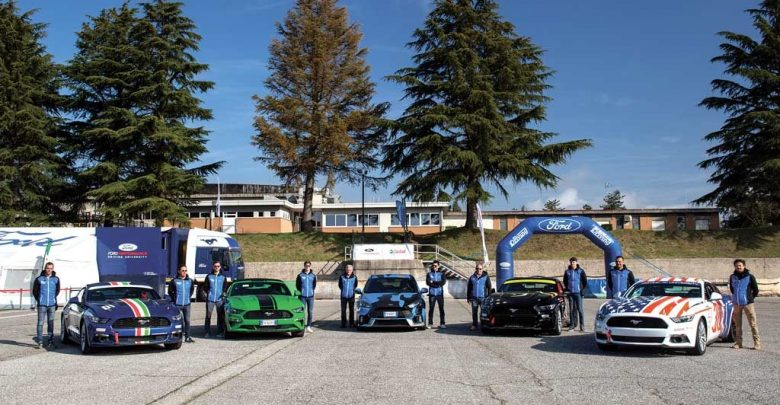 Corsi di guida sportiva Ford Performance Driving University