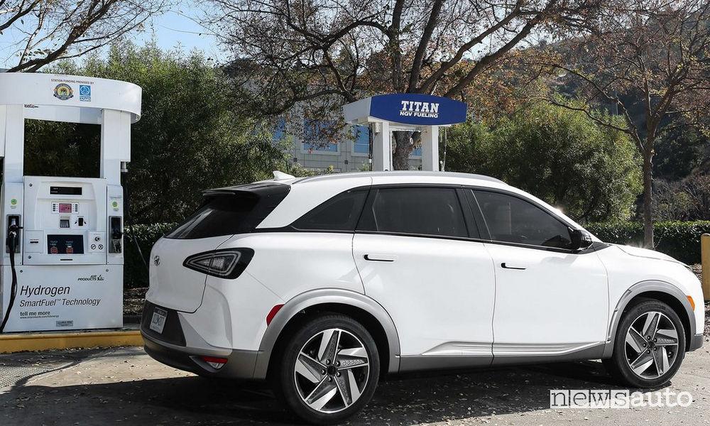 auto ad drogeno Hyundai